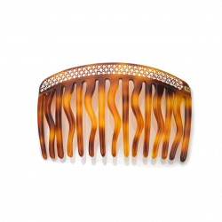 Diamant de Paris - Fait main -15 teeth Comb Classical Vison Strass
