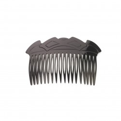 Diamant de Paris - Fait main -18 teeth Comb Black