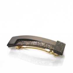 Diamant de Paris - Fait main -Barrette Fondant Dentelle(8cm)